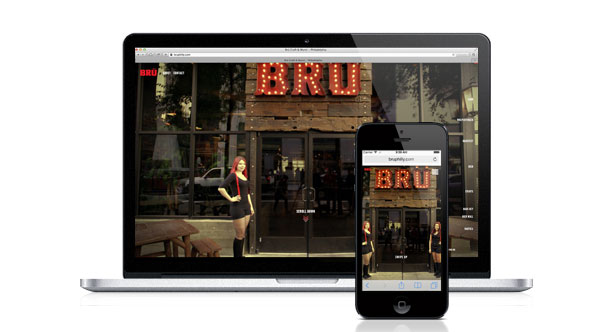 Handcrafting Brü's Website